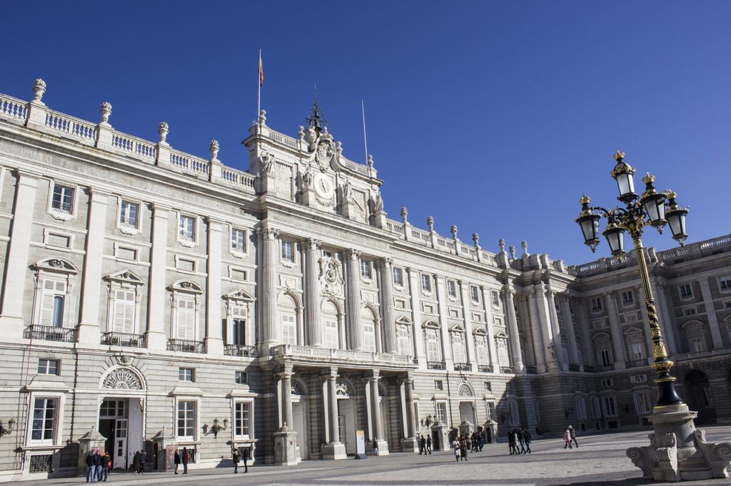 Be sure to include the Royal Palace on a summer holiday in Madrid
